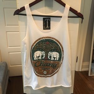 Made in Thailand one of a kind tank top